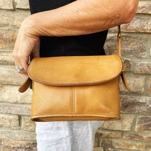 Coach Vintage Leather Crossbody Bag